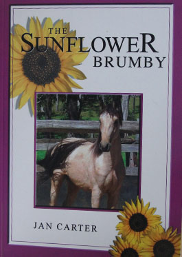 The Sunflower Brumby book